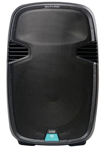 Caixa De Som Amplificada Multilaser Trolley Sp220,bluet