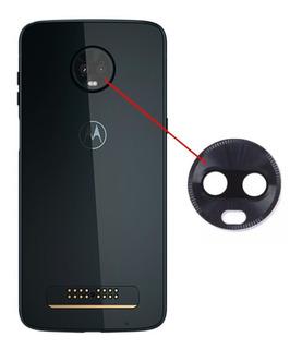 Lente Vidro Camera Traseira Principal Moto Z3 Play