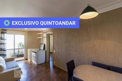 Apartamento No 10º Andar Mobiliado Com 2 Dormitórios E 1 Garagem - Id: 892934983 - 234983