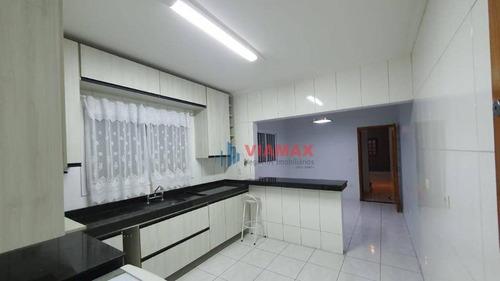 Imagem 1 de 20 de Sobrado Com 3 Dormitórios À Venda, 156 M² Por R$ 490.000 - Jardim Das Indústrias - São José Dos Campos/sp - Ca0758