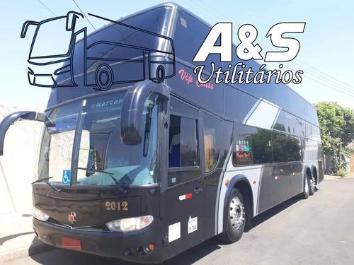 Imagem 1 de 8 de Marcopolo Dd 1800 Ano 2000 Scania K124 Impecavel Ais Ref 730