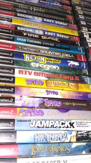 Jogos Originais Playstation 2 Americanos Preços Variados