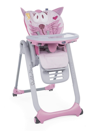 Silla De Comer Polly2start Multiposición Regulable Plegable