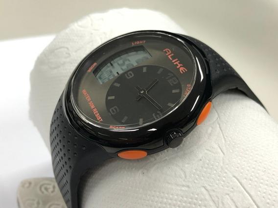 Relógio Alike Ana-digi Ak16128 Esportivo A Prova D