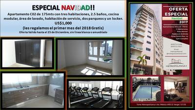 Apartamentos En Alquiler 3 Hab + Area Social (promo Navidad