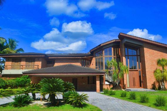 Casa De Condomínio Com 9 Dorms, Acapulco, Guarujá - R$ 8.5 Mi, Cod: 13001 - V13001