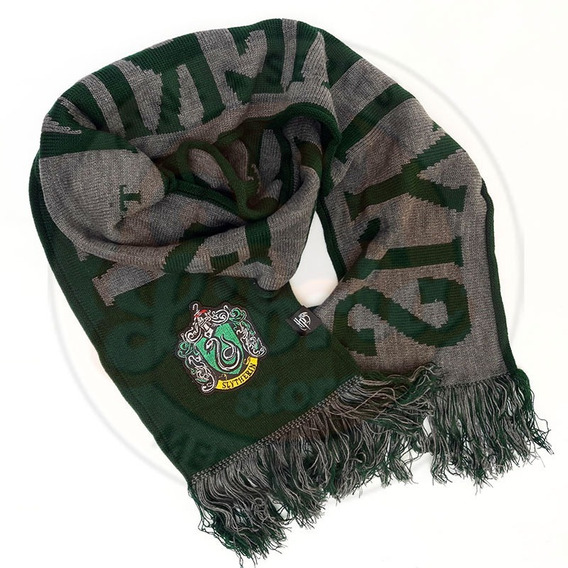 Bufanda De Slytherin Original Quidditch Harry Potter Warner