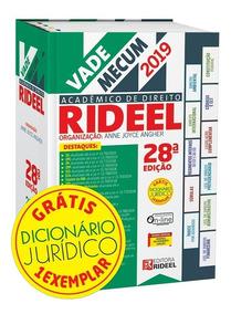 Vade Mecum Academico De Direito - 28ª Edição 2019 - Rideel