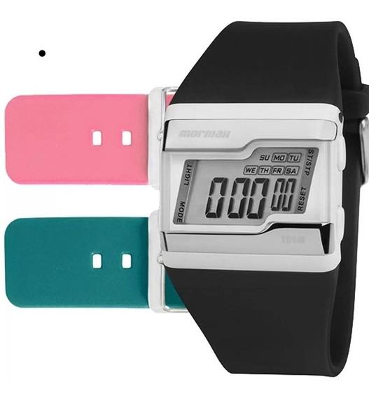Relógio Mormaii Troca Pulseiras Fz/t8j C/ Garantia E Nf