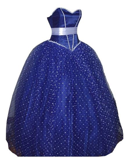 Vestido De 15 Azul Princesa