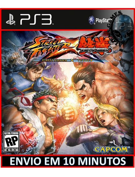 Street Fighter Vs Tekken Ps3 Jogos Playstation 3