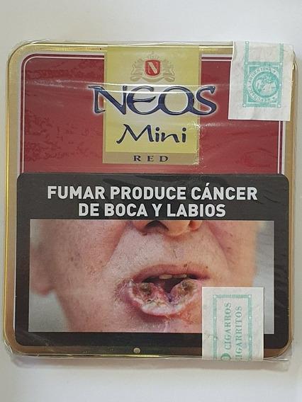 Lata 10 Cigarros Neos Mini Red