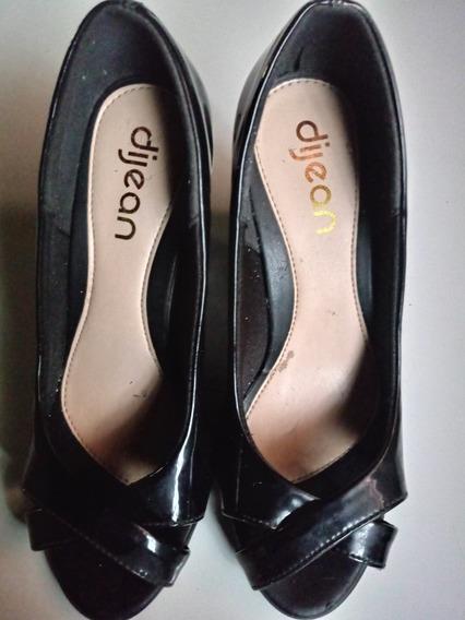 Sapato De Salto Alto 10 Cm Feminino Da Marca Dijean