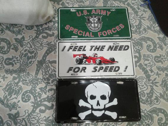Placas Automotivas Personalizadas Das Forças Especiais