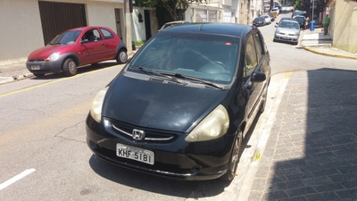Honda Fit 2006 Ex Mt - Gasolina