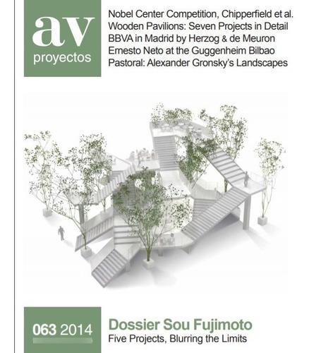 Imagen 1 de 10 de Revista Av Proyectos 63  Sou Fujimoto