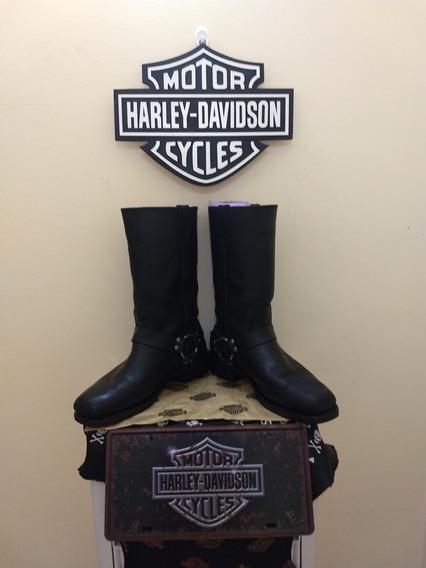 Harley-davidson® Mens Hustin Black High Riding Boot 41/42