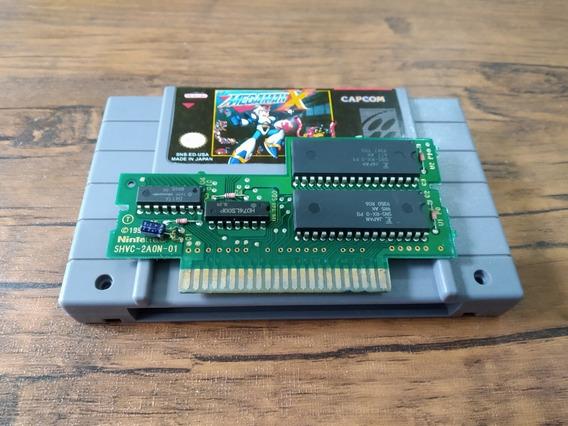 Cartucho Megaman X - Snes - Original