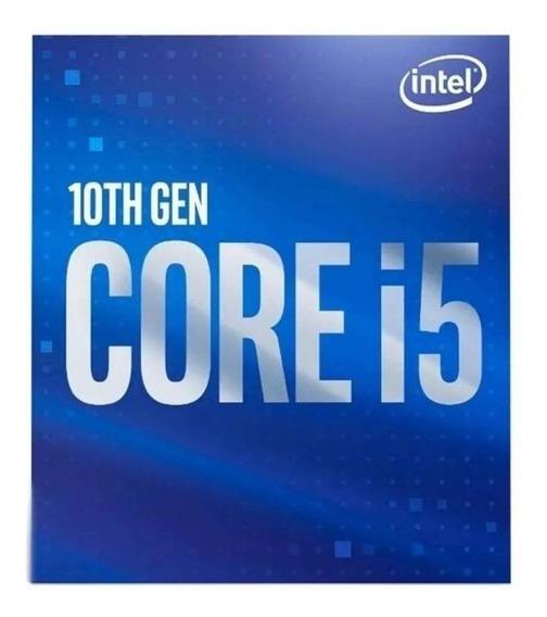 Procesador gamer Intel Core 10400 BX8070110400 de 6 núcleos y 2.9GHz de frecuencia con gráfica integrada
