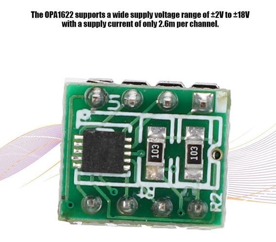 Opa1622 Amplificador Duplo Op Terminado Placa Do Produto Alt