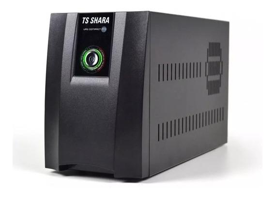 Nobreak 1400va Bivolt Ups Compact Pro 6tom. Ts Shara Dvr Ps4