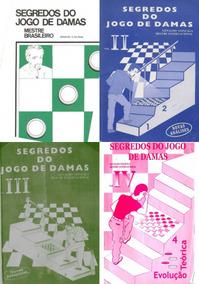 Livros Do Jogo De Damas Coleção De Livros De Dama