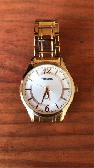 Relógio Mondaine Dourado Feminino