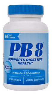 2 X Pb8 Probiótico Import 120 = 240 Cap - 12x