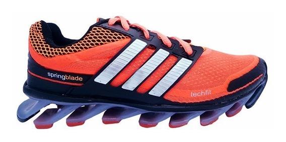 Tênis adidas Springblade Laranja E Preto Mod:11464