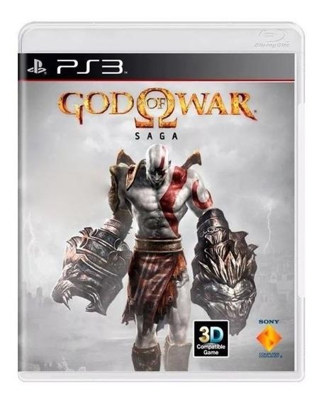 God Of War Saga 3 Jogos Ps3 Mídia Física Usado