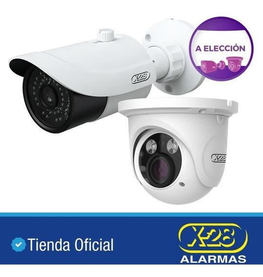 Cámara Seguridad Varifocal X-28 Metal 1080p Sensor Sony Ip66