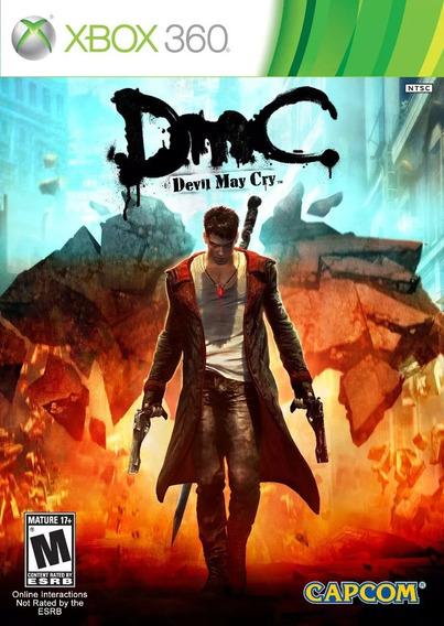Dmc Devil May Cry Xbox 360 (midia Física)
