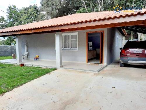 Chácara Com 2 Dormitórios À Venda, 830 M² Por R$ 580.000,00 - Jardim Estância Brasil - Atibaia/sp - Ch1452