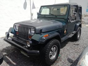 Jeep Wrangler Estándar 1994 Toldo Blando, Posible Cambio