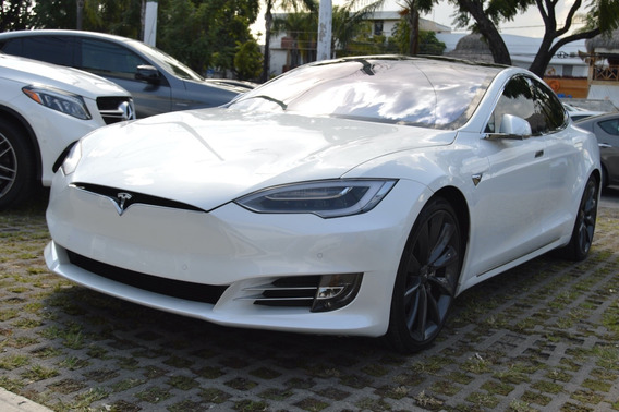 Tesla Model S 75 2017 Blanco