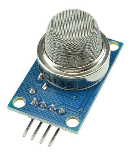 Imagen 1 de 2 de Sensor Mq135 Calidad De Aire En Medición Nh3 Nox Co2-  Mv