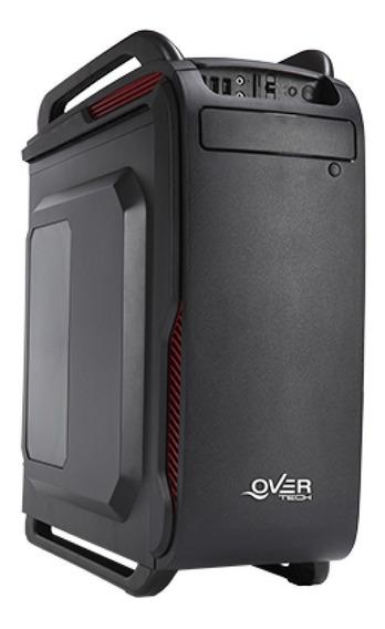 Gabinete Gamer Overtech Ox-204 Con Fuente 600w Reales Atx Pc