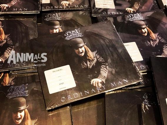 Ozzy Osbourne Ordinary Man Deluxe Cd Import Nuevo Original