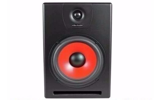 Monitor De Studio Amplificado Ikey Bl M-808v2 - Bivolt