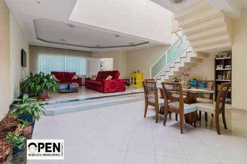 Sobrado Com 3 Dormitórios, 340 M² - Venda Por R$ 1.650.000,00 Ou Aluguel Por R$ 8.000,00/mês - Jardim Paraíso - Santo André/sp - So1753