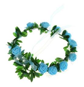 6 Tiara / Coroa De Flores Enfeite De Cabelo Noiva