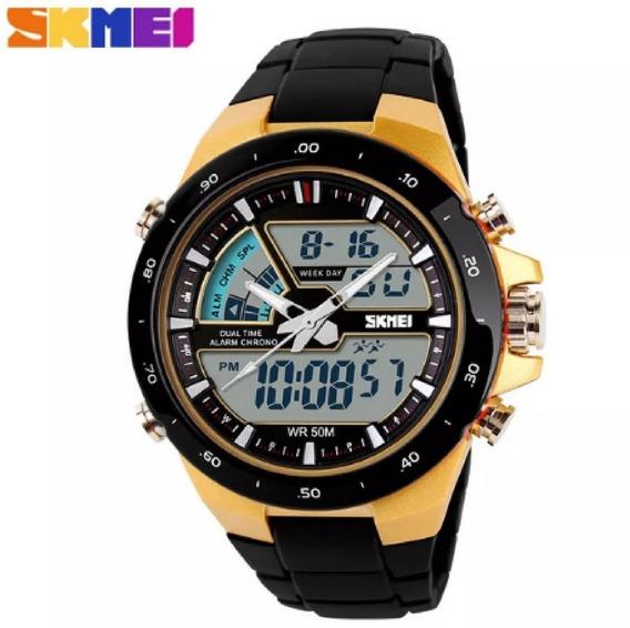 Relógio Masculino Sport Digital Wr50m Militar Skmei 1016