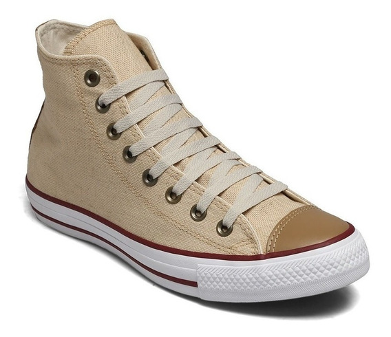 Tênis Converse All-star Ct As Core Hi Palha Ct04350002