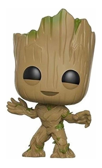 Boneco Funko Pop Marvel Guardioes Da Galaxia Baby Groot 202