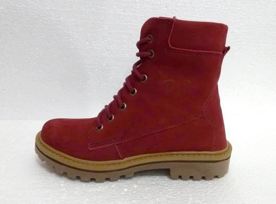 Bota Bella Boots 0700 (f) Bordo/nobuck Claro