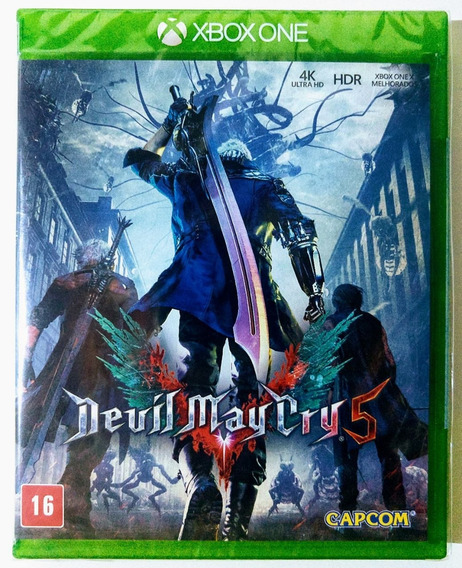 Jogo Devil May Cry 5 Xbox One - Mídia Física - Novo Lacrado