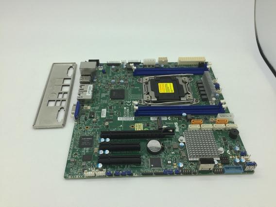 Placa Mãe Supermicro X10srm-f Lga 2011-3 Xeon V3/v4 Microatx