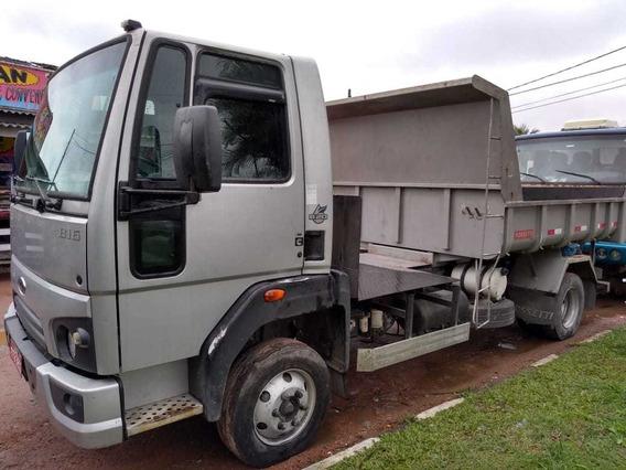 Caminhão Caçamba Rossetti, Unico Dono, Plataforma P/ Cimento
