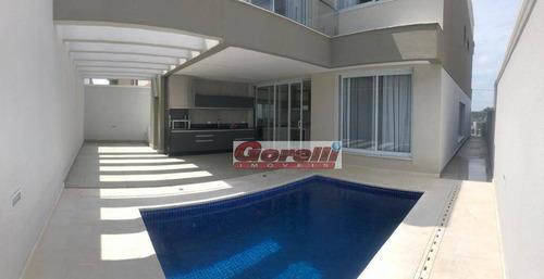 Casa Com 4 Dormitórios À Venda, 280 M² Por R$ 2.200.000,00 - Condomínio Real Park - Arujá/sp - Ca1783