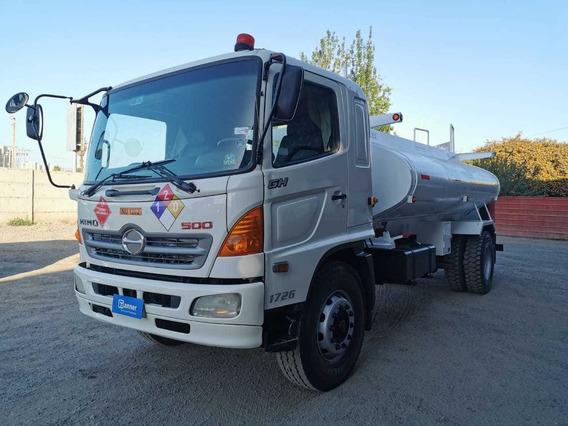 Camión Surtidor De Combustible Hino 500 De 10.000 Lts 2012